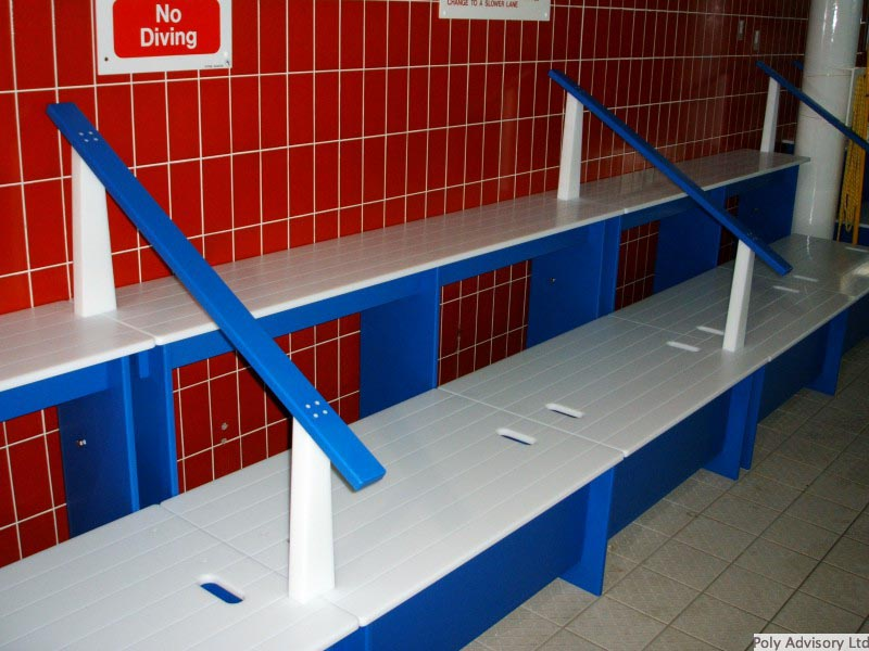 Swimming Pool Changing Room Furniture