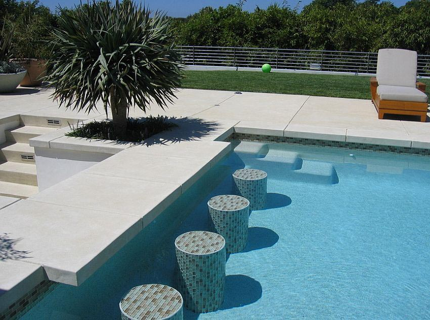 Swimming Pool Concrete Deck Paint