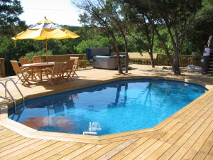 Swimming Pool Deck Kits