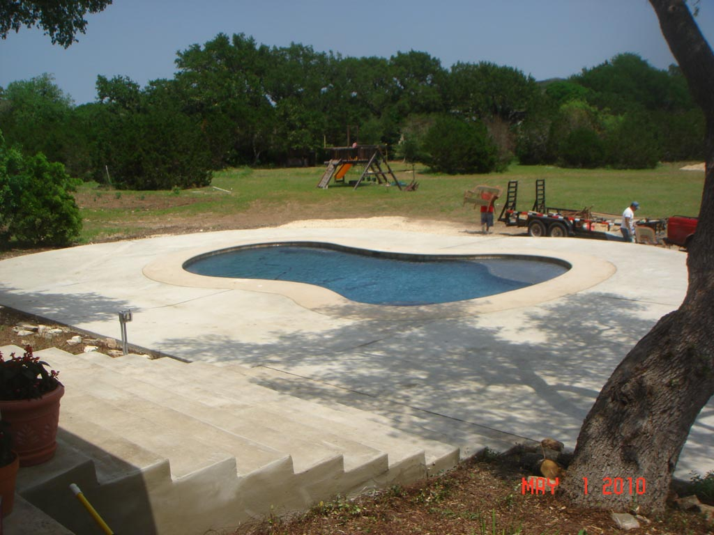 Swimming Pool Deck Resurfacing