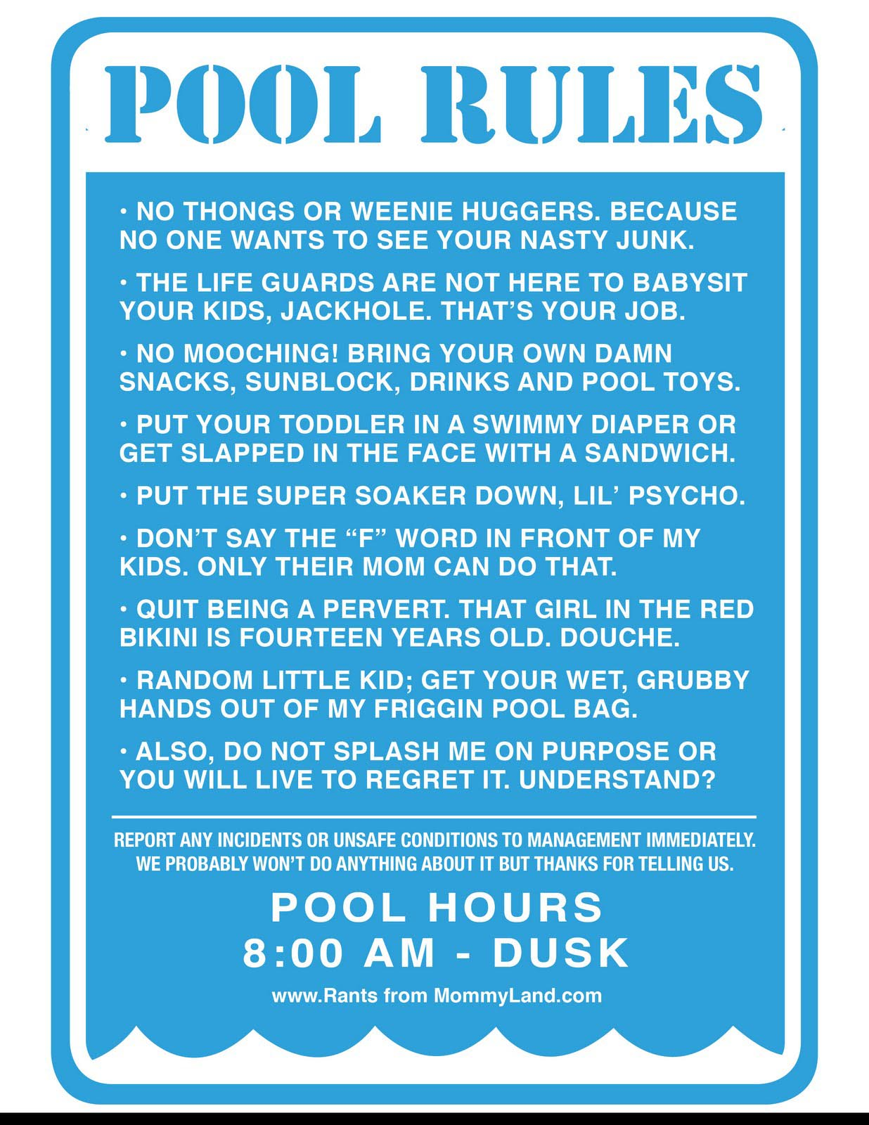 Swimming pool rules signs backyard design ideas for Pool design rules