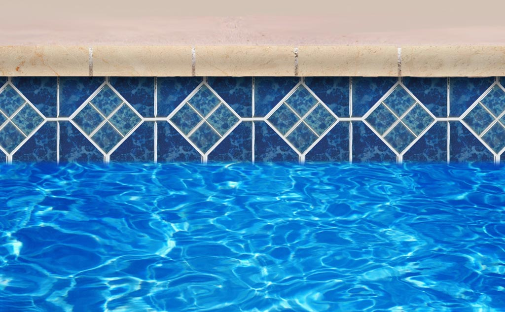 Waterline pool tile ideas american hwy for Swimming pool tile pictures