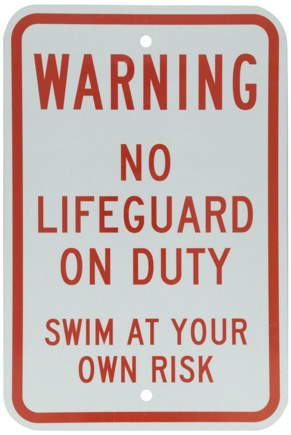 Swimming Pool Warning Signs