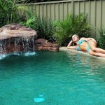 Swimming Pool Waterfall Kit