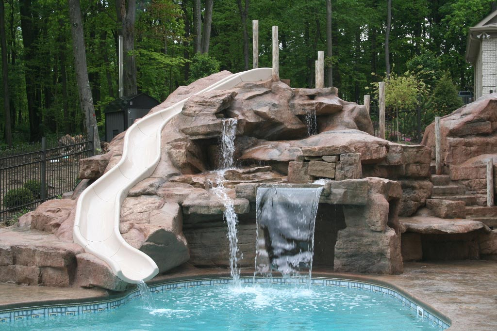 Swimming Pool Waterfalls Pictures