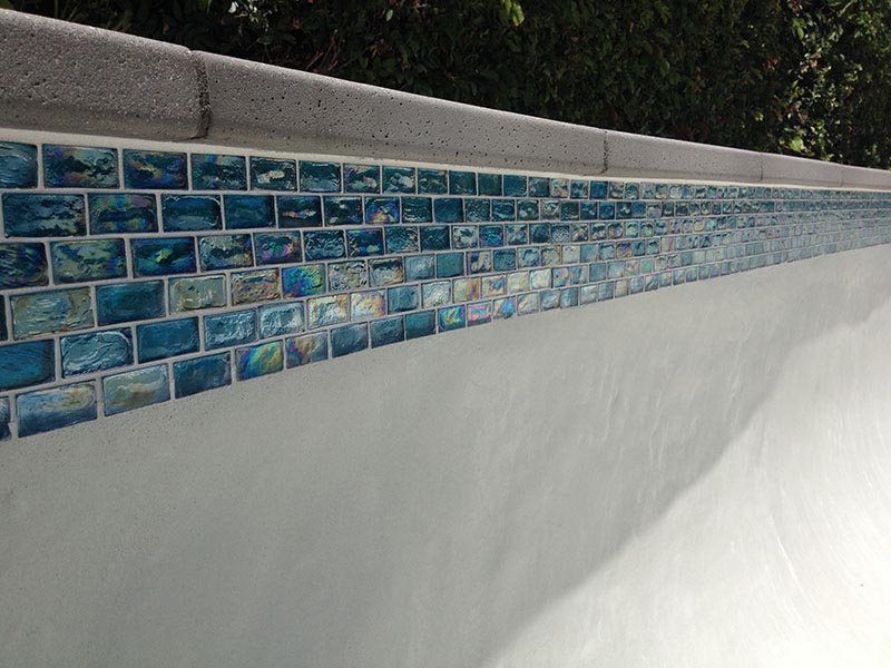 Swimming Pool Waterline Tile | Backyard Design Ideas