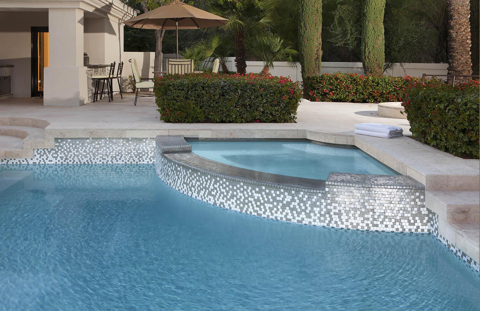 Tile coping for swimming pools backyard design ideas for Pool tile designs