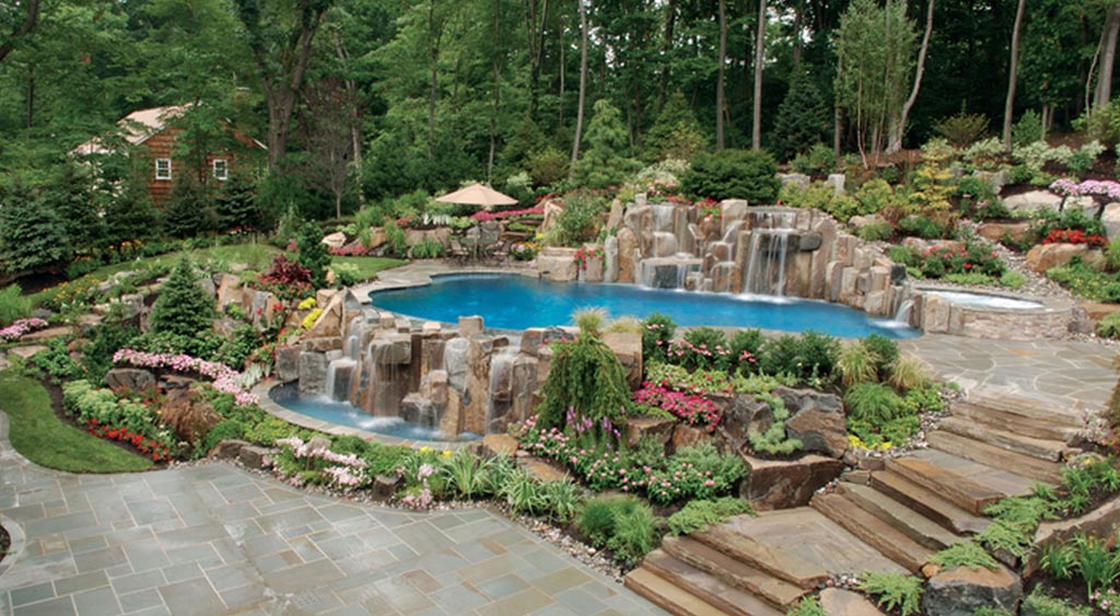 Waterfalls for Pools Inground